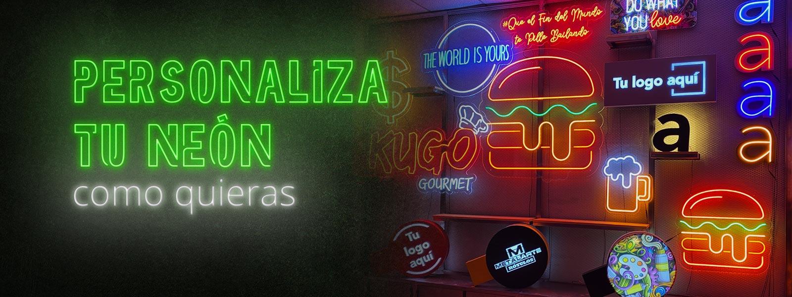 Fabricación de Rótulos de Neon Flex